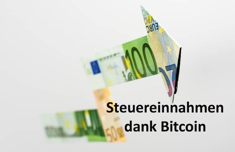 Pfeil aus Geldscheinen