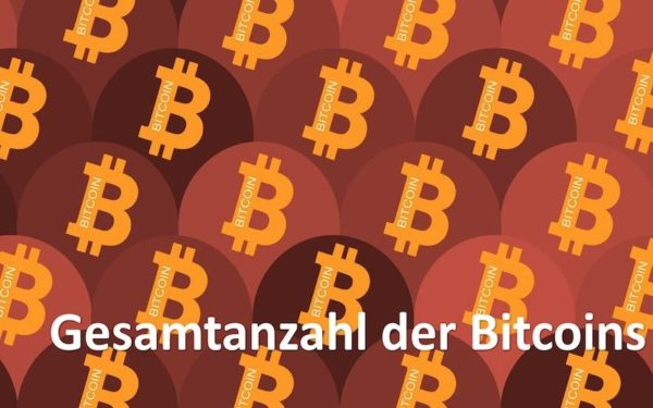 Viele Bitcoins nebaneinander