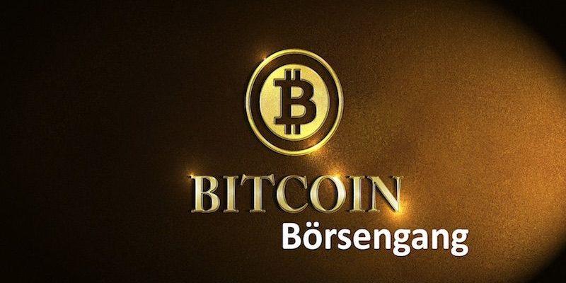 Bitcoin Börsengang