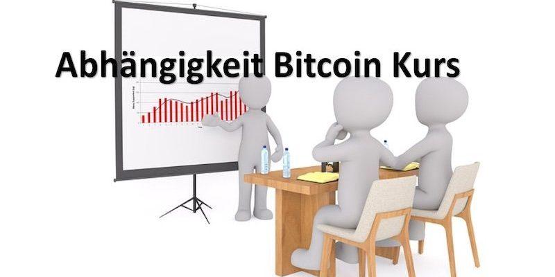 Bitcoin Einflussfaktoren