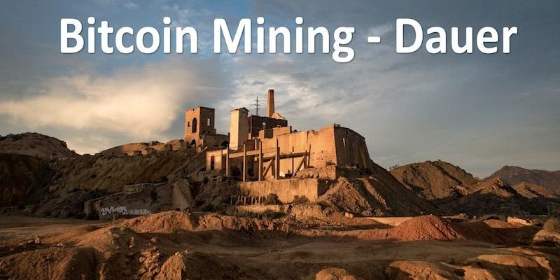 Eine alte Mine