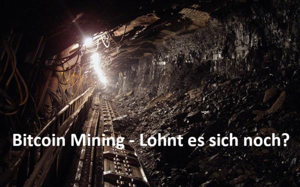 Ein Minenschacht