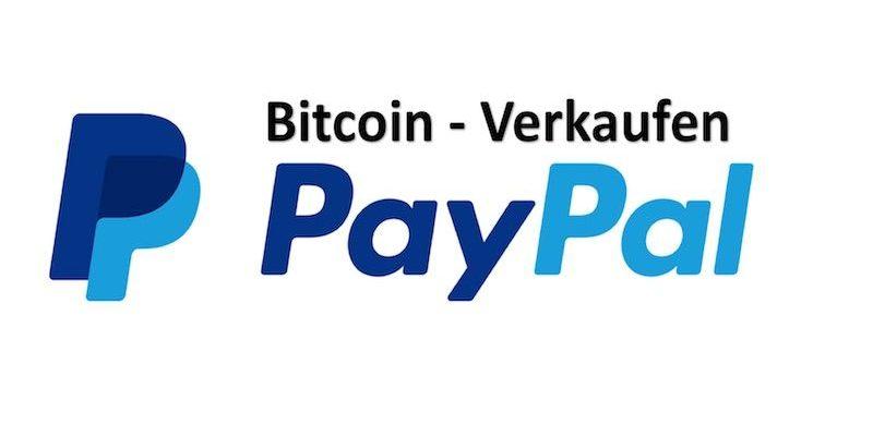 Paypal und Bitcoin Zeichen