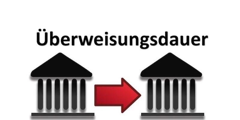 2 Geldinstitute und ein roter Pfeil