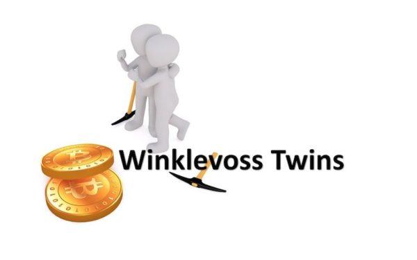 2 Männchen mit Bitcoins