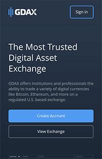 Mobile Version der Anbieter-Webseite