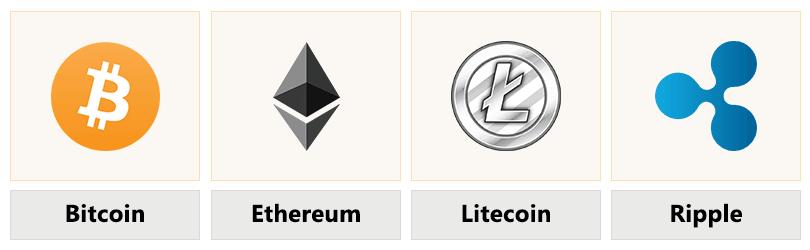 Der Anbieter bietet unter anderem diese Coins an
