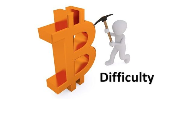 Männchen beim Bitcoin Mining