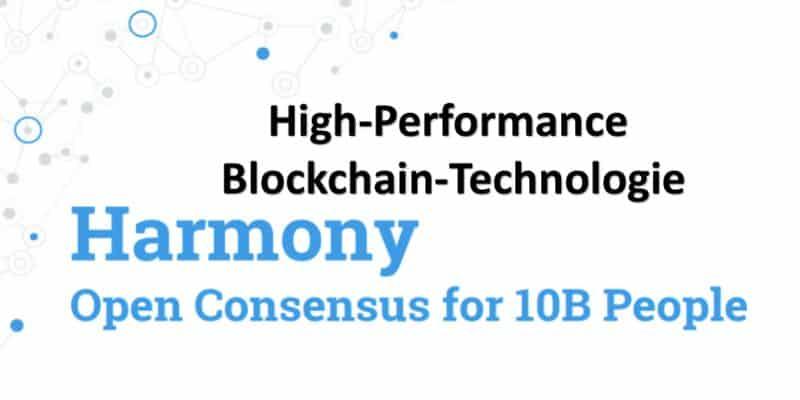 Harmony Logo auf weißem Hintergrund