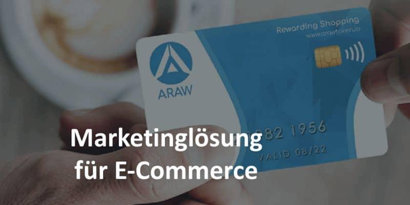 Kreditkarte in blau