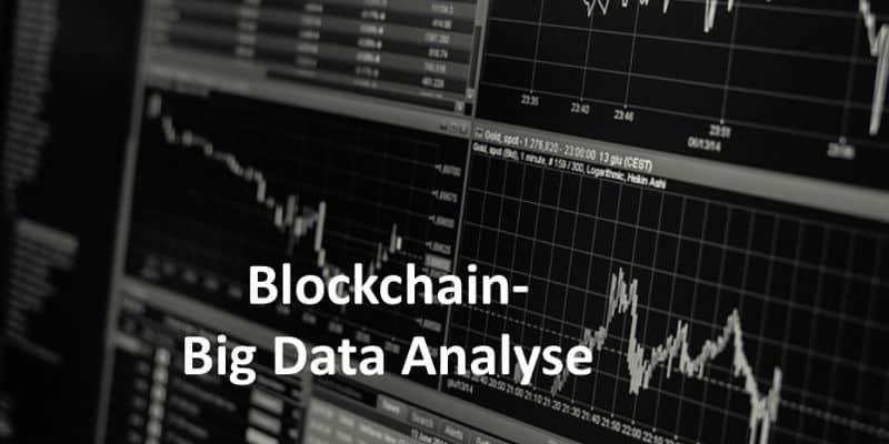 Datenanalyse mit weiß/schwarzen Kurse Chart