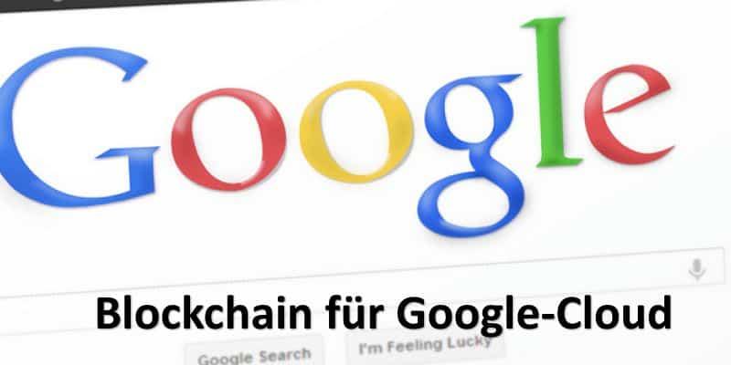 Google Startseite auf Bildschirm