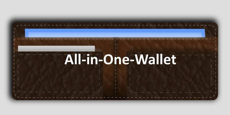Geldbeutel geöffnet