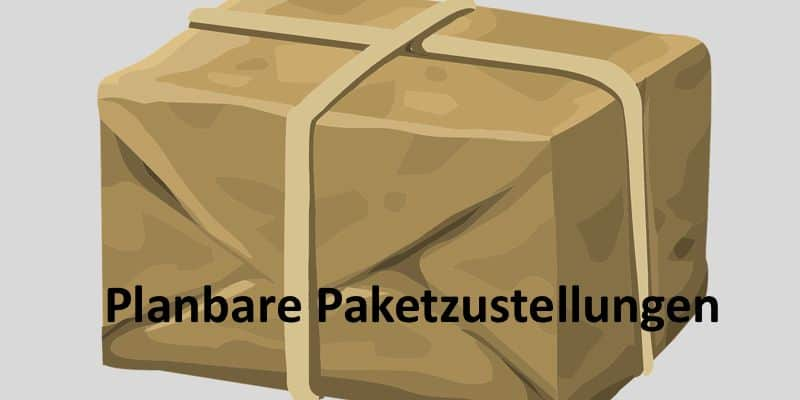 Paket in braun
