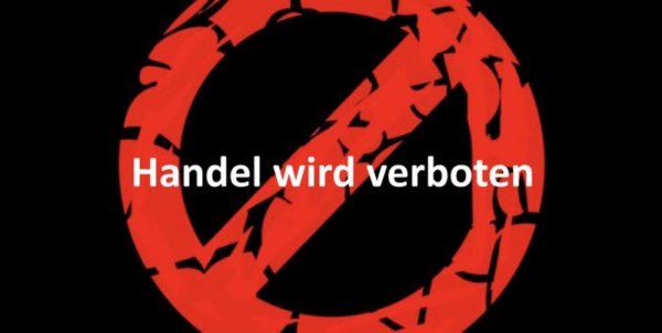 Rotes Verbots-Symbol