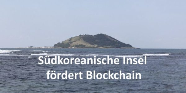 Südkoreanische Insel