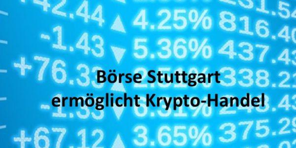 Börse Stuttgart Krypto-Handel