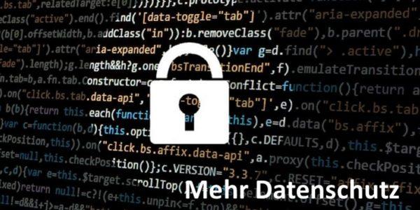 Sicherheitsschloss-Symbol auf Code-Hintergrund