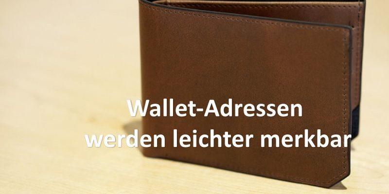 Braune Brieftasche