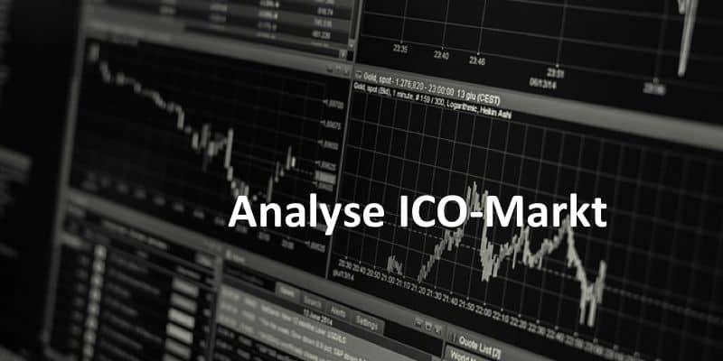 Handelsanalysen auf Monitor