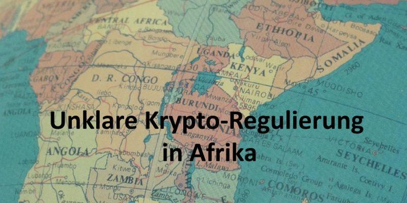 Karte von Afrika auf Globus