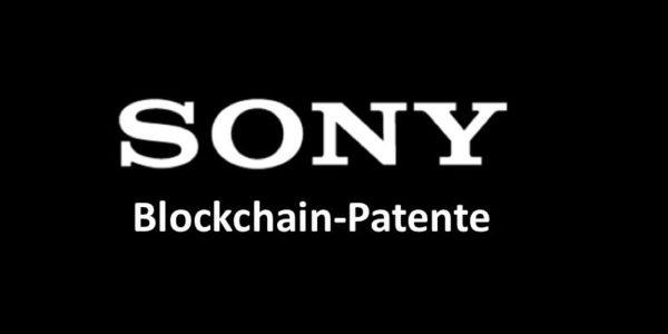 Weißes Sony-Logo