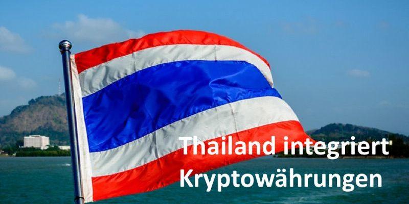 Thailändische Flagge