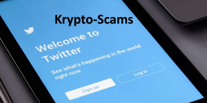 Display Smartphones zeigt Twitter Sign-in-Seite an