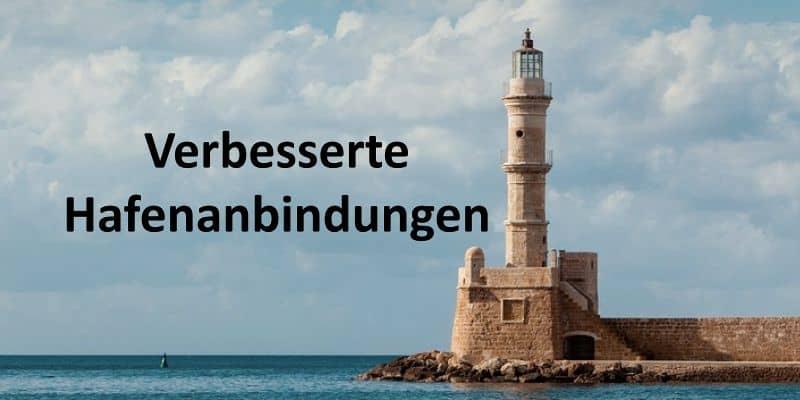 Ein Leuchtturm am Meer
