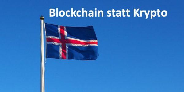 Isländische Flagge