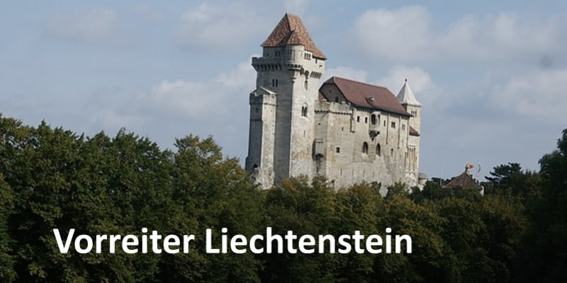 Burg in Liechtenstein