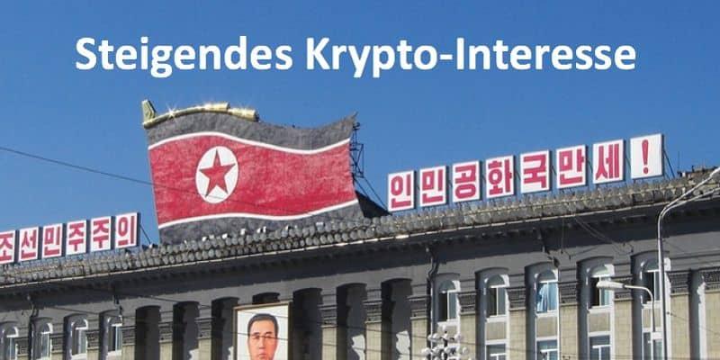 Ein Gebäude in Nordkorea