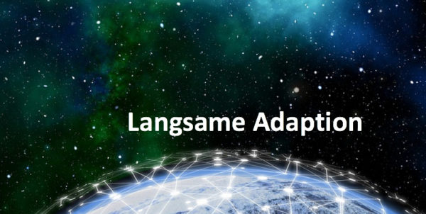 Die Erde, ein digitales Netzwerk