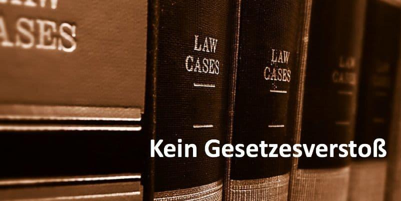 Gesetzesbücher im Bücherregal