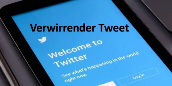 Twitter Startseite auf Tablet