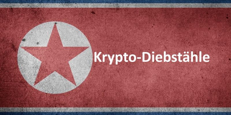 Nordkoreanische Flagge