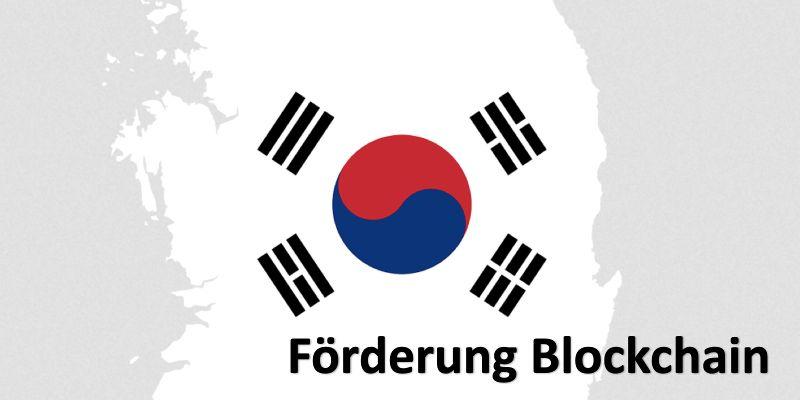 Länderumriss von Südkorea und das Faggensymbol Südkoreas