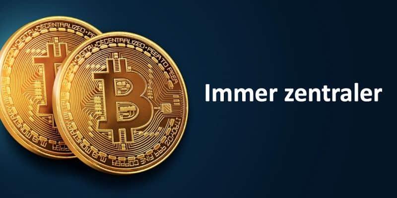 Zwei Bitcoin-Münzen