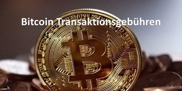 Bitcoin Transaktionsgebühren Coin