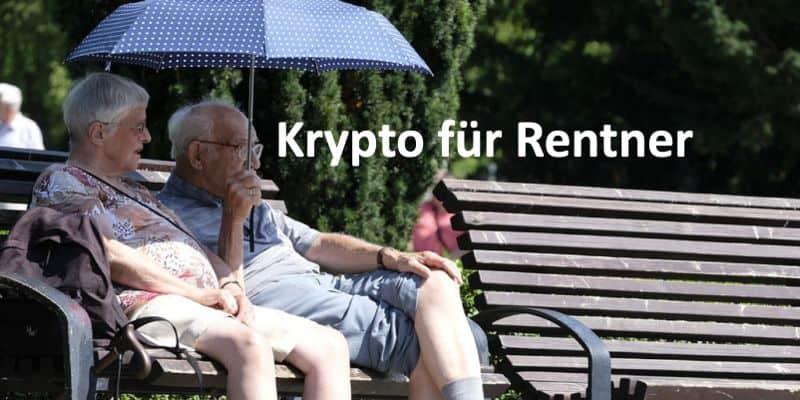 Zwei Rentner sitzen auf einer Parkbank