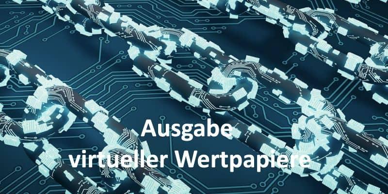 Eine digitale Kette, Blockchaine
