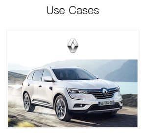 Renault Auto mit Symbol