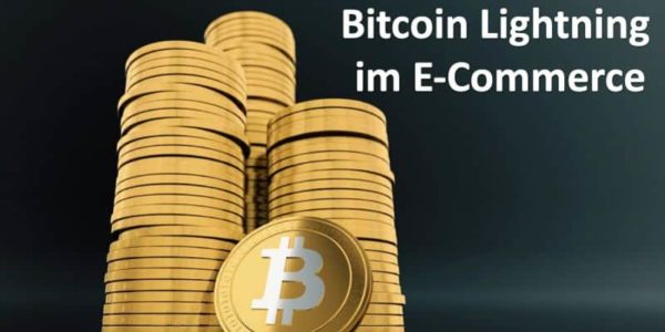 Ein Turm von Bitcoin-Münzen
