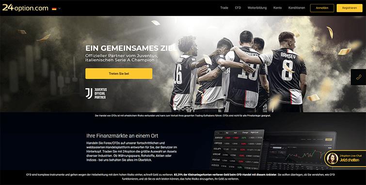 Webseite des Brokers_2
